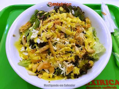Mixirica Alimentação Equilibrada: Salada