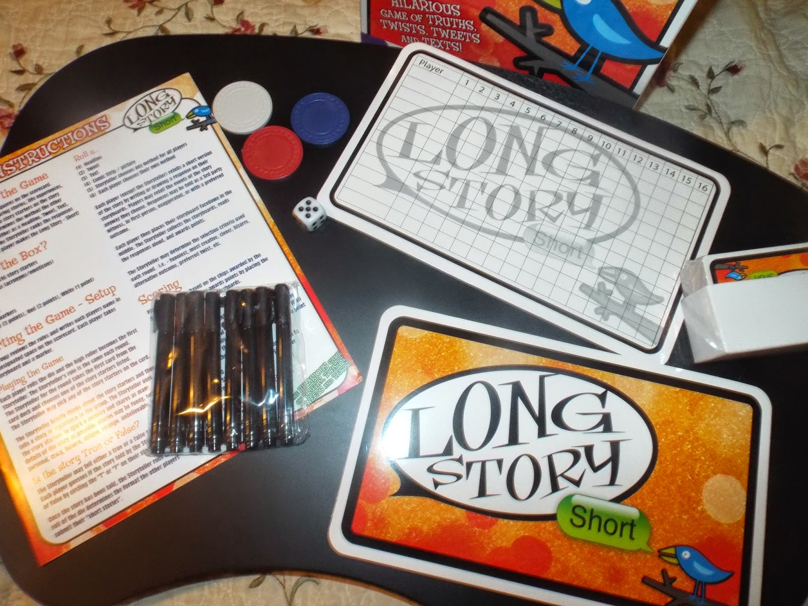 Long Story Short: A game from the folks at The Game Chef