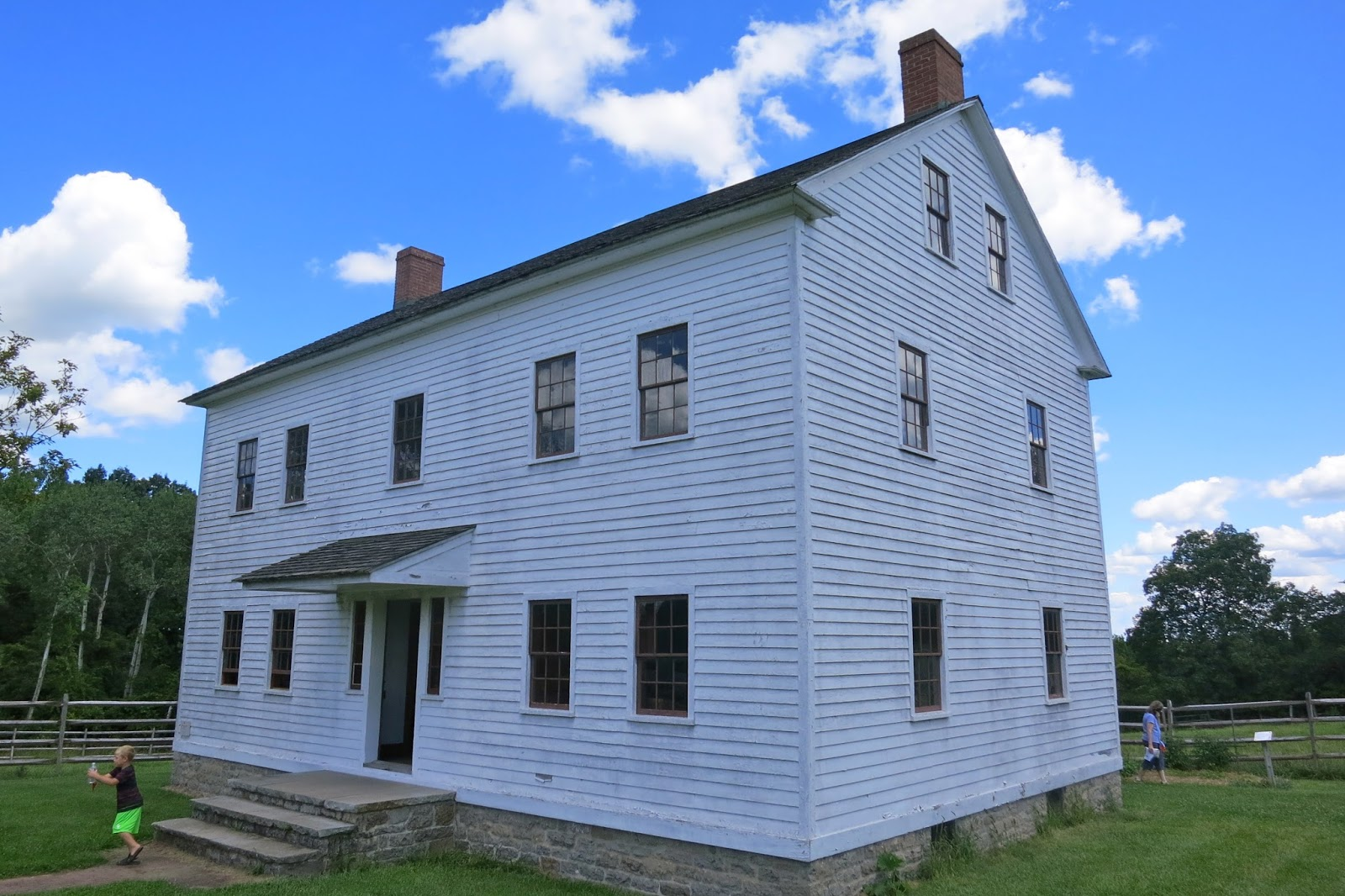 Shaker Trustees\' Building 1839 Sonyea, NY. | Tom The Backroads Traveller