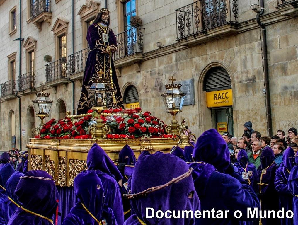 Ilustre y Venerable Congregación de Jesús Rescatado y Nuestra Señora de las Angustias; Iglesia de San Pablo; Semana Santa de Salamanca