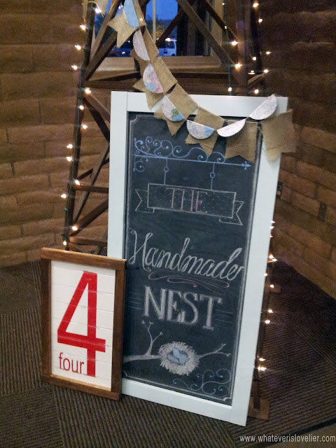 The Handmade Nest Blogger Craft Night