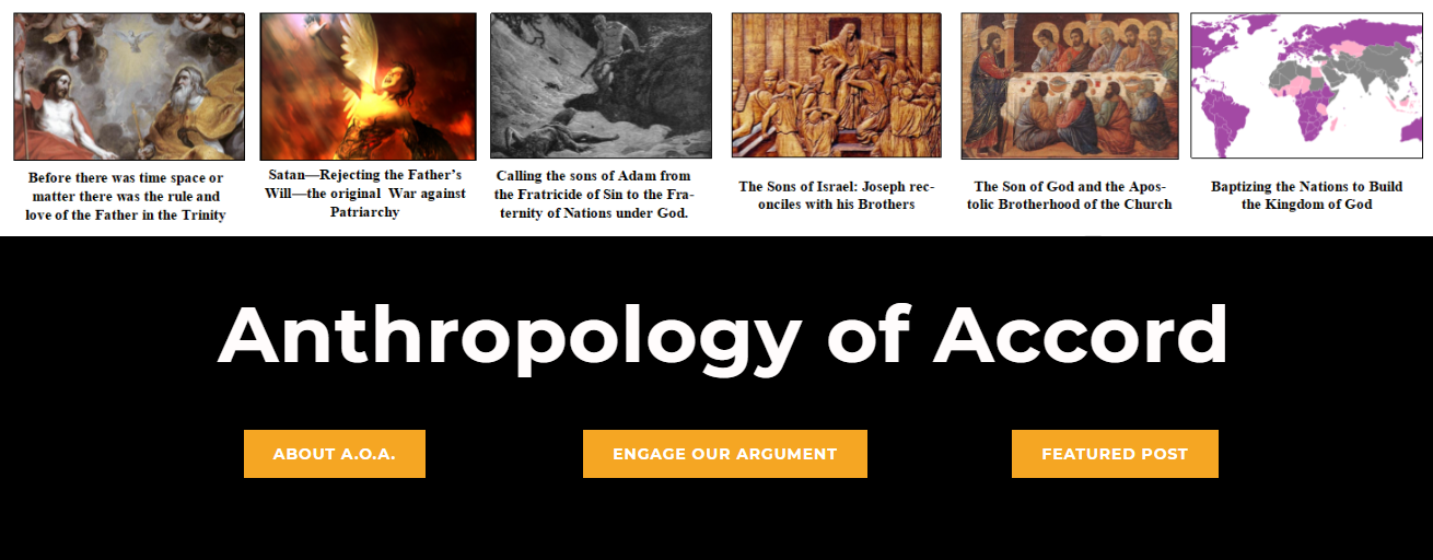 Return to the Anthropology of Accord HOME PAGE