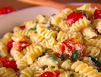 Parafuso com Escarola e Tomate (vegana)