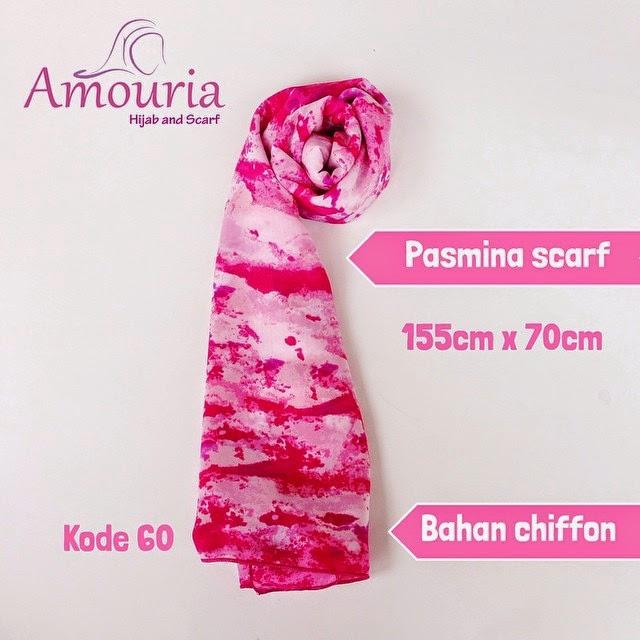 Hijab Amouria Pashmina Scarf Kode 060