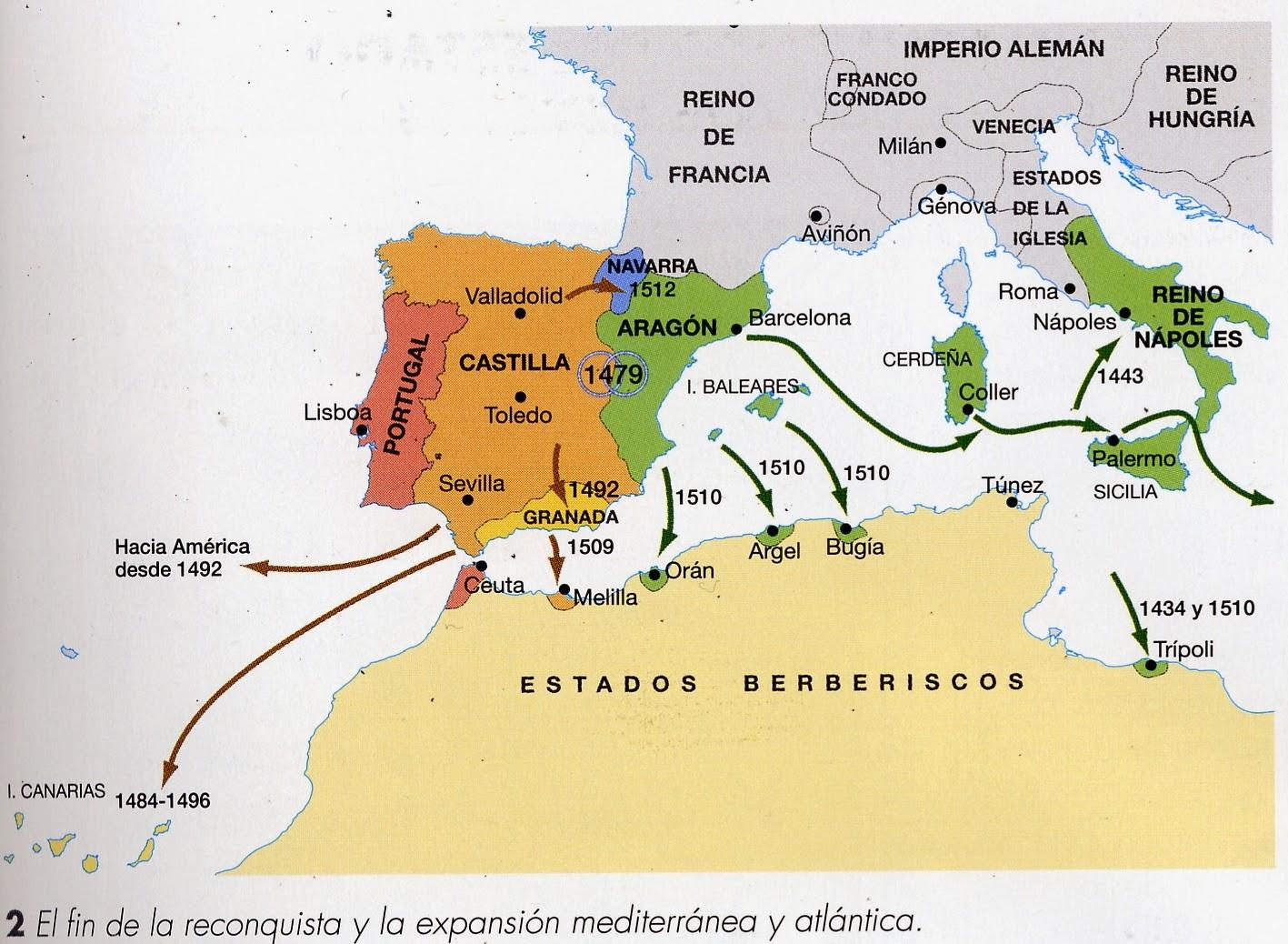 Historia espa a ies venancio blanco pol tica exterior y for La politica exterior de espana