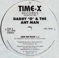 Daddy 'O' & The Ant Man - Jam on Bass (Vinyl, 12''1988)(Time-X Records)
