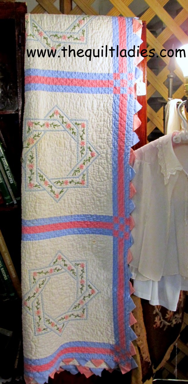 Quilts in Arcadia, Florida antique shops.
