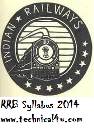 RRB Asst Loco Pilot Syllabus 2014,www.rrbbilaspur.gov.in Exam Pattern/Study materials