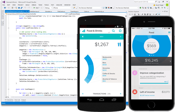 Now you can build native iOS, Android and Windows apps in Visual Studio