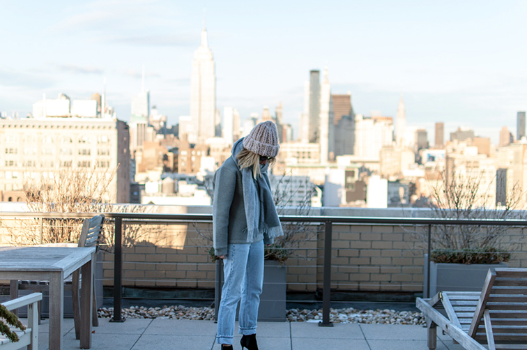 Empire State Building, Fashion Over Reason, Levi's vintage button fly 501