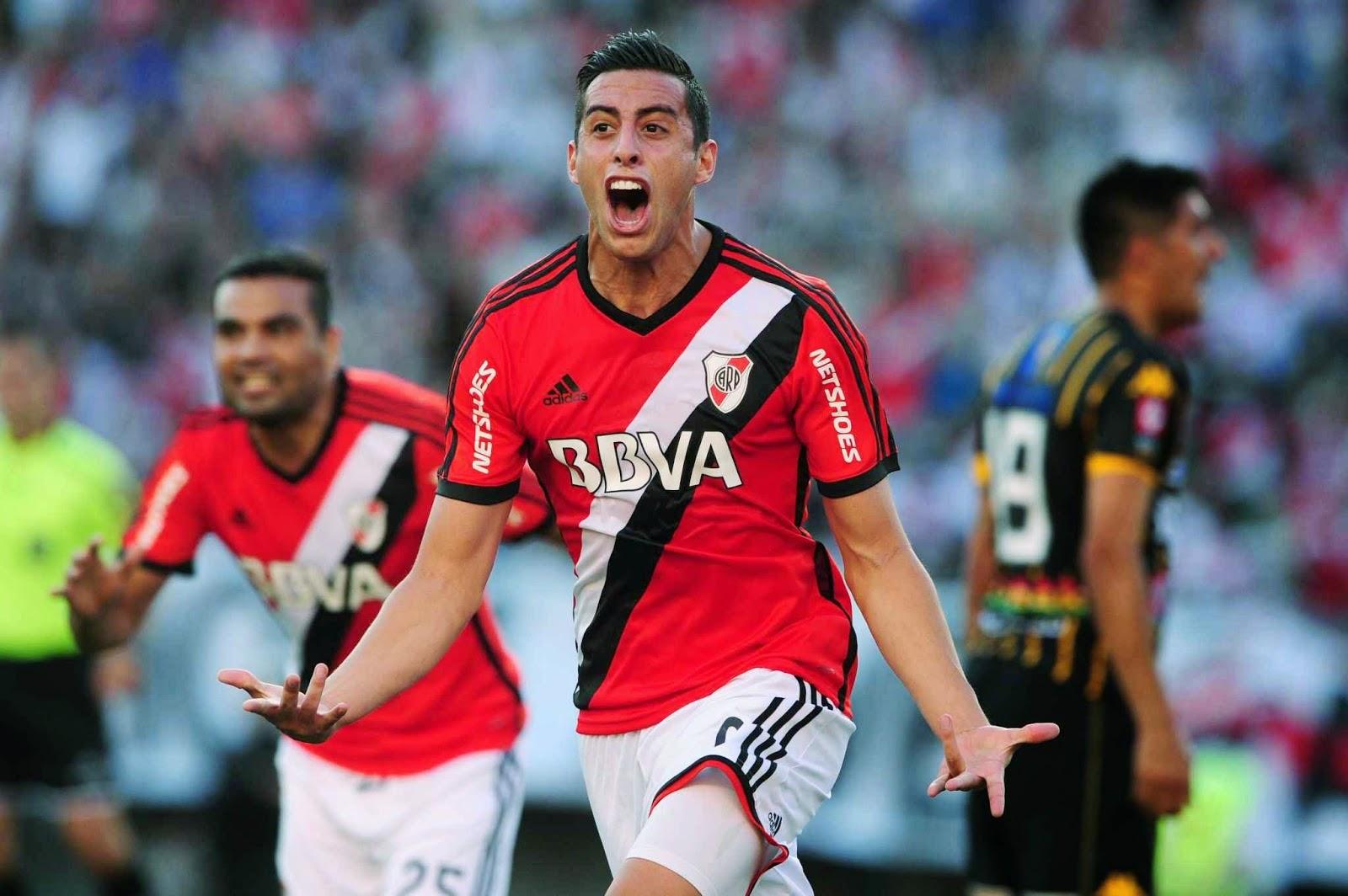Gol, Funes Mori, Mellizo, River, River Plate, Olimpo, Empate, Torneo Transición, Boca, camiseta nueva, adidas, alternativa, suplente,