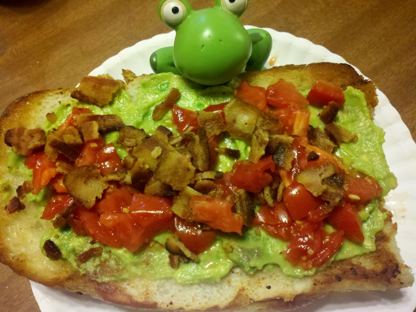 Bacon, Avocado and Tomato Bread | Keeping It Real by ...