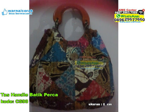 Tas Handle Batik Perca