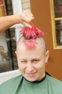 pink mohawk