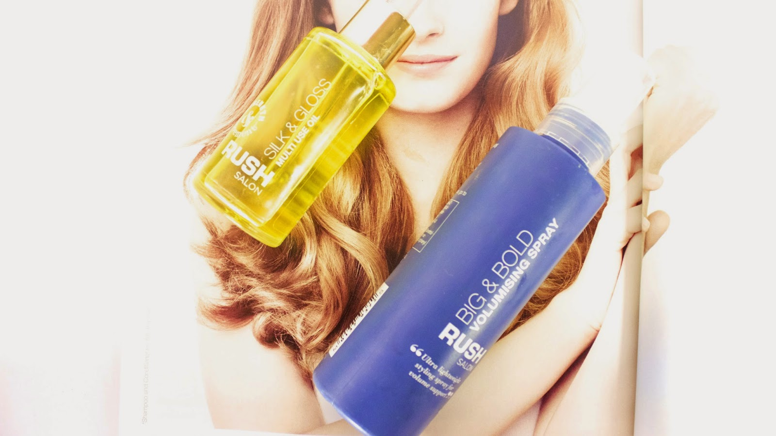 RUSH SALON PRODUCTS REVIEW : M&S LAUNCH