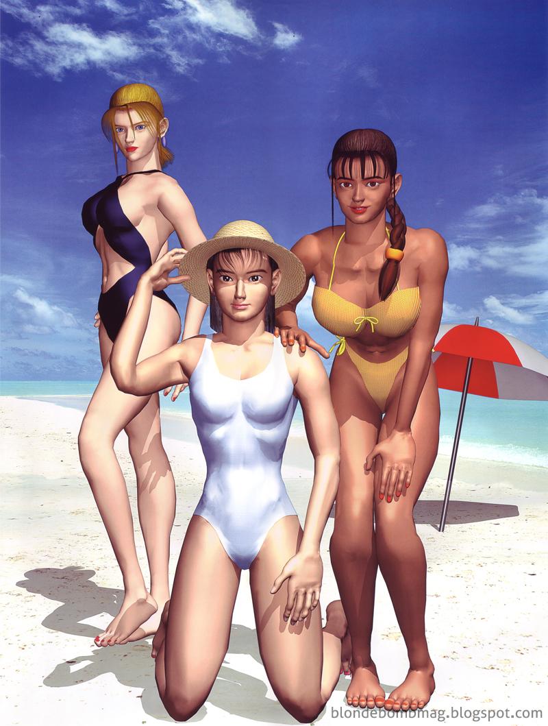 Nina Jun Michelle beach bikini swimsuit