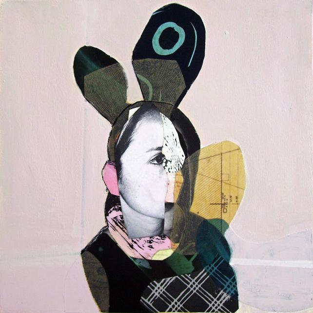 Image: Femme by Pascal Marlin, via Saatchi Art