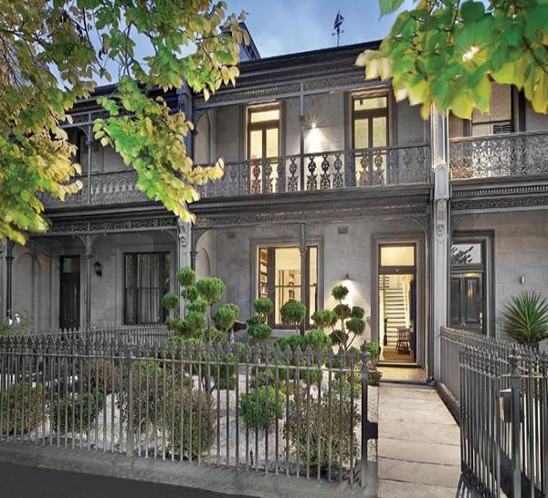 History victorian houses on pinterest sydney victorian for Terrace homes