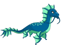 Elemental Colection: Water Dragon