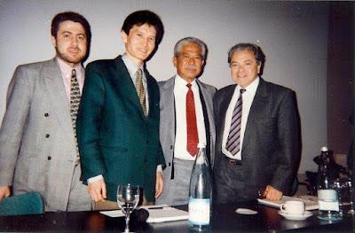 La plana mayor de la FIDE en 1995