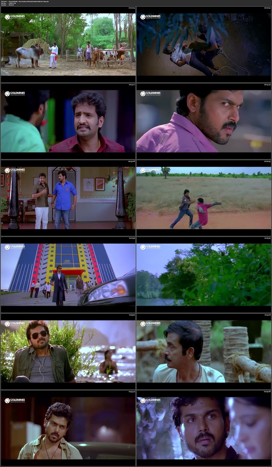 Alex Pandian 2018 Full Movie in 300MB Hindi WEB HD 480p