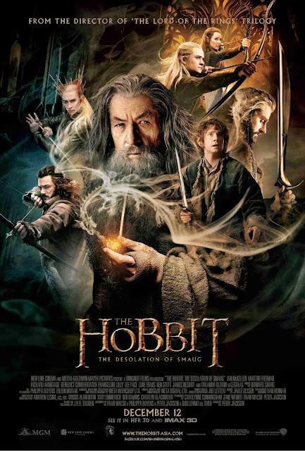Hobbit 2 Desolation of Smaug official poster international - large malaysia
