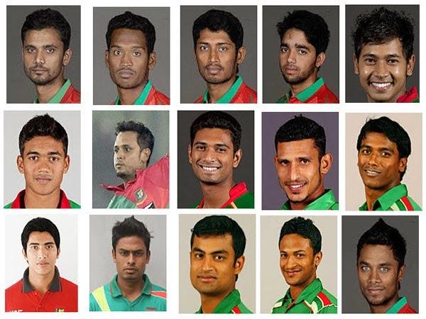 Bangladesh Team at World Cup 2015