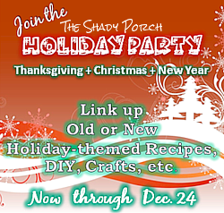 30 Day Holiday Party #linky #linkyparty #linkyparties #recipes #crafts #decorations