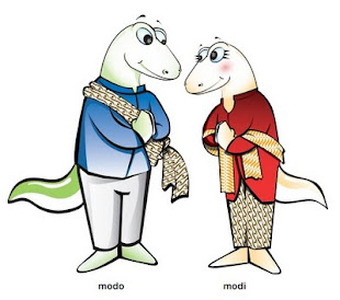 "Maskot Sea Games ""Modo-Modi"""