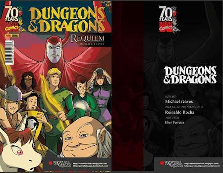 Verdadeiro final da Caverna do Dragão em quadrinhos