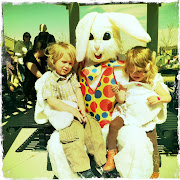they put on an Easter Egg hunt for the kids this past saturday. such a . easter