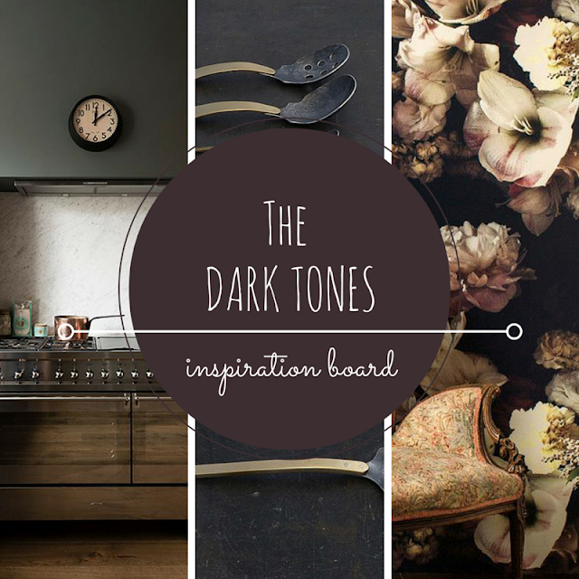 DARK TONES • COLOR INSPIRATION • the Round Button blog