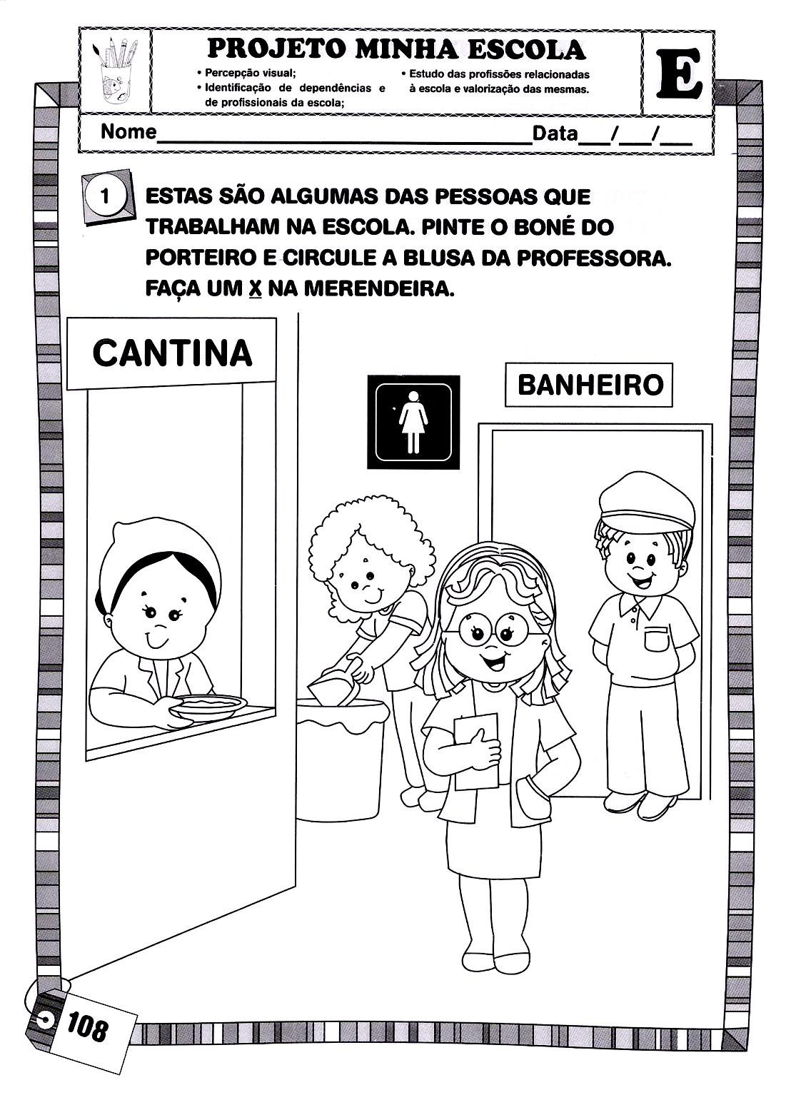 Educação antiga e atual no brasil