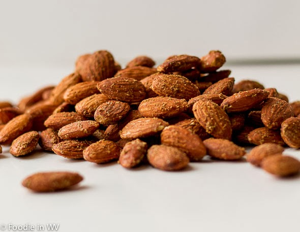 Homemade Smoked Almonds