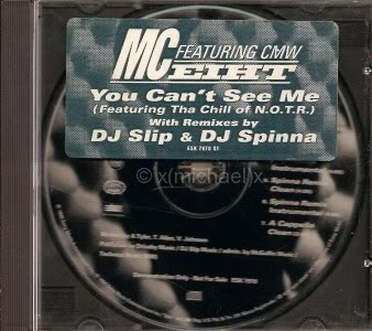 MC Eiht – You Can't See Me (Promo CDS) (1996) (192 kbps)