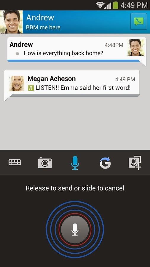 Aplikasi Android Blackberry Messenger (BBM) Versi Terbaru Asik - 7