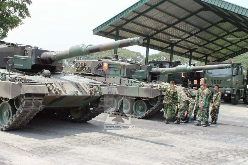 Calon Awak Tank MBT Leopard 2 Terus Berlatih di Yonkav 8/ Tank Divif 2 Kostrad