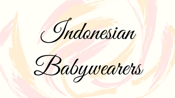 Indonesian Babywearers