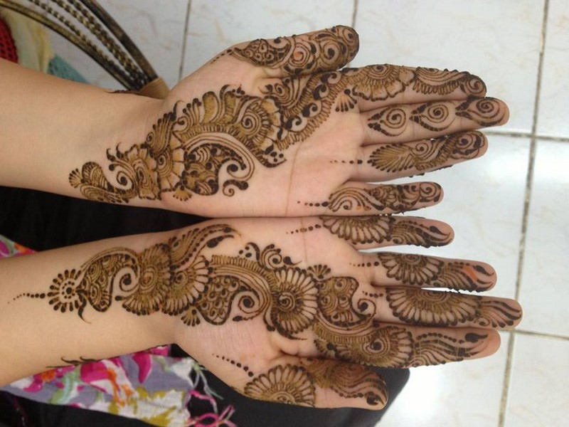 Mehndi Tattoo Images Download : Bridal mehndi designs latest fancy collection