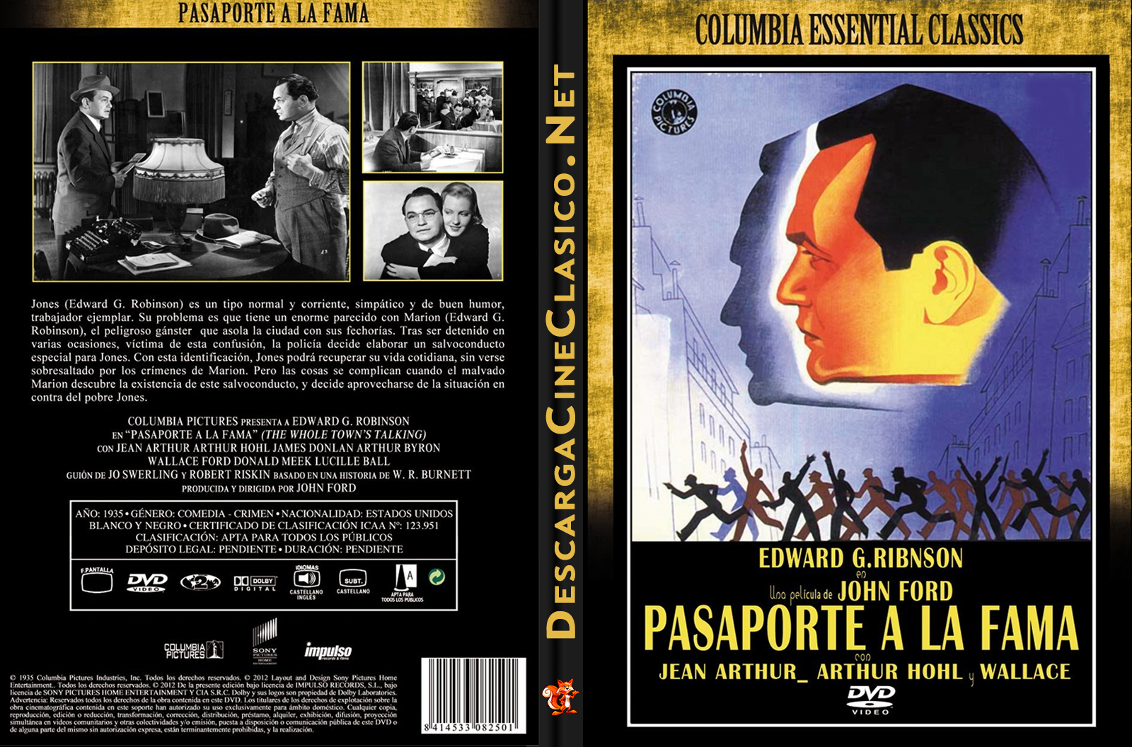 Pasaporte a la fama (Passport to Fame – 1935)