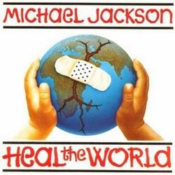 kunci gitar heal the world
