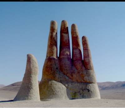 The Giant Hand of the Atacama Desert
