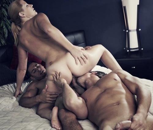 Cuckold Licks Pussy As His Wife Fucks a Black Stud  Free