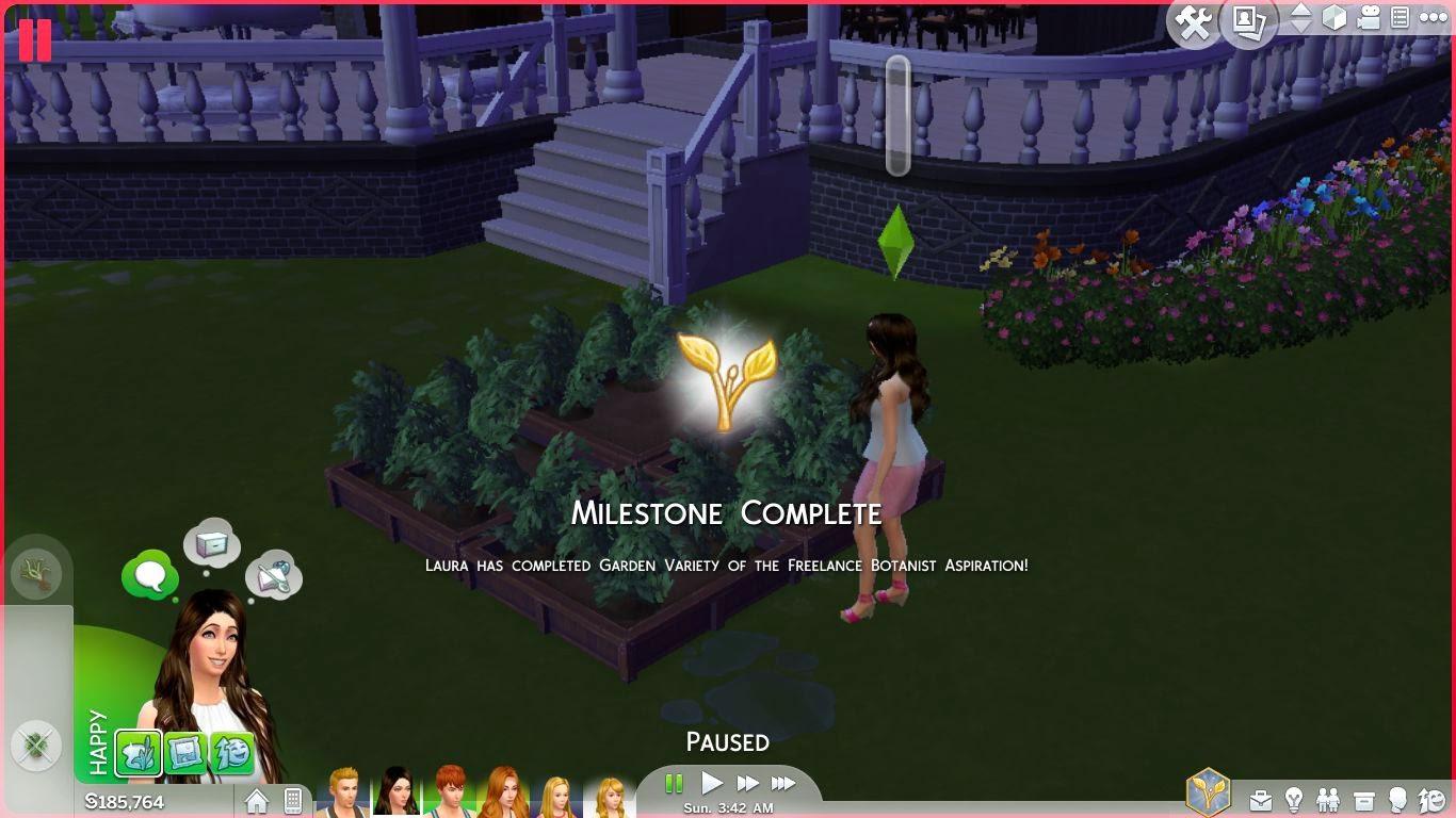 sims 4 gameplay,sims 4 freelance botanist
