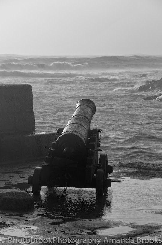 Porthleven during Hercules storm