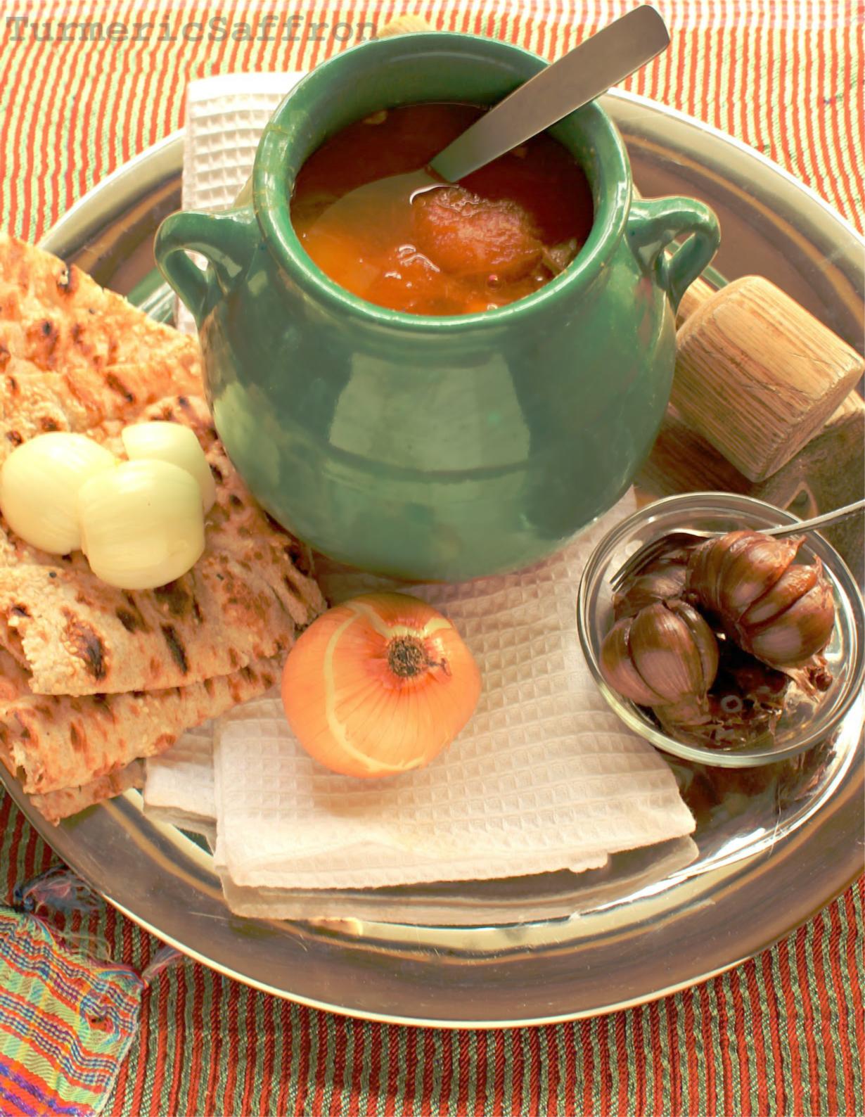 Turmeric saffron dizi traditional iranian lamb for Ancient persian cuisine