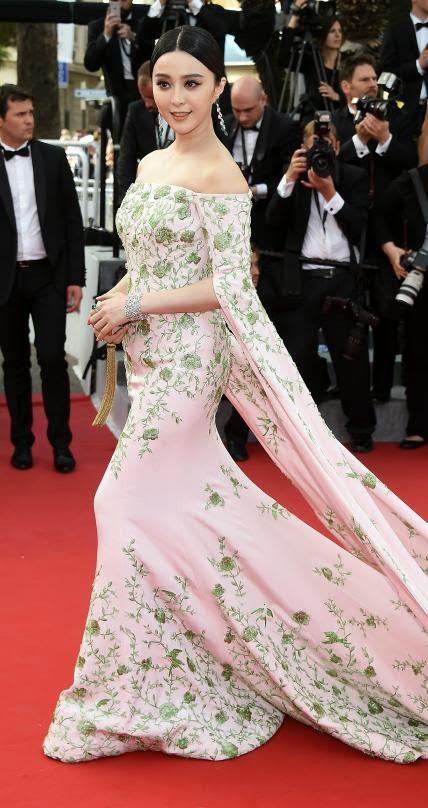 68º 68º Festival Filme de Cannes, red carpet Fan Bingbing  Ralph & Russo