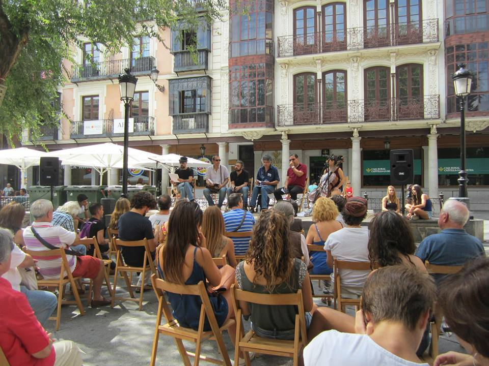 Festival Voix Vives -Plaza de Zocodover, Toledo-2014-
