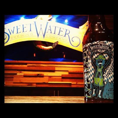 SweetWater DANK TANK Danktoberfest bottle