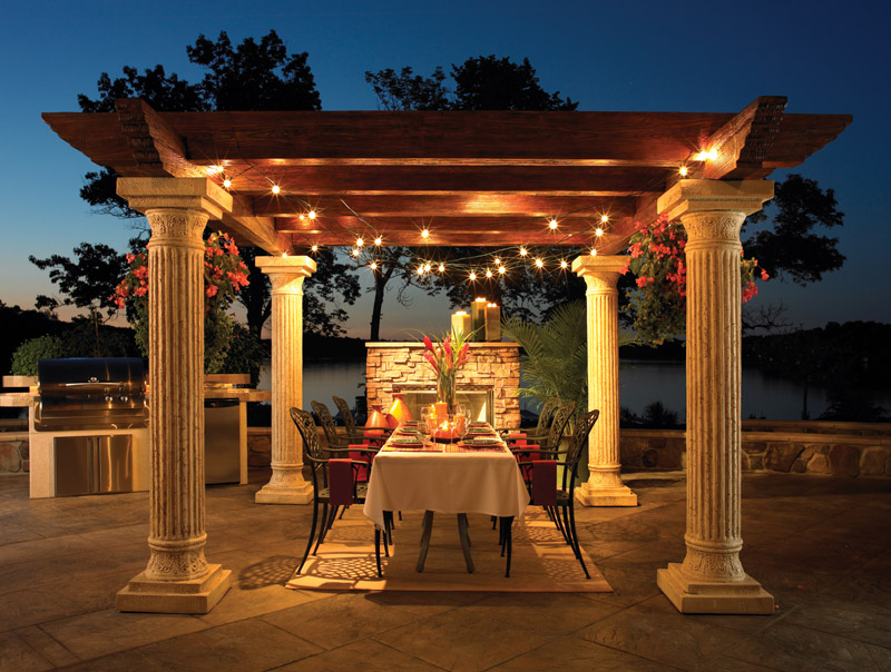 Outdoor Room Design Captivating Of Outdoor Pergola Design Ideas Photo